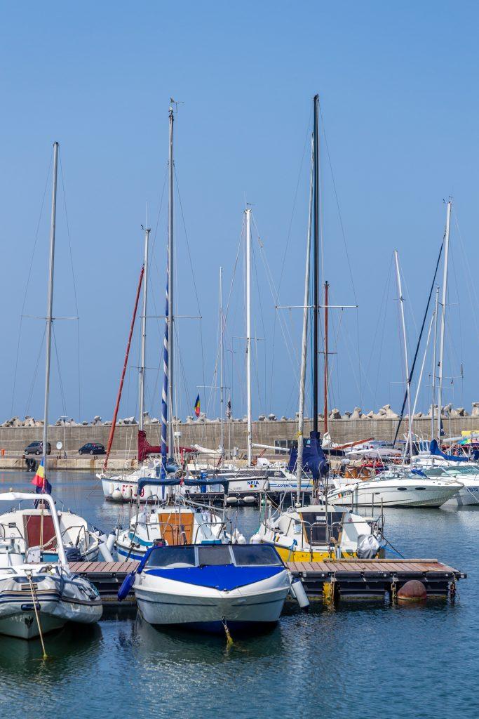 Constanta harbor, Romania