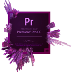 Adobe Premiere Pro CC opening screen
