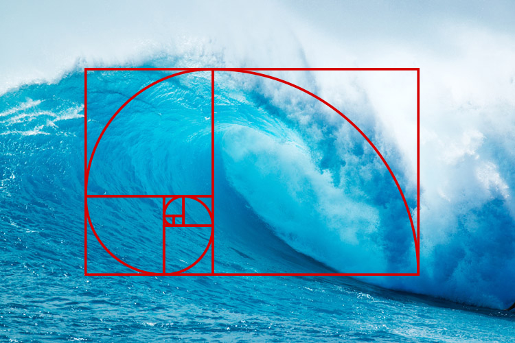 how to find the golden spiral