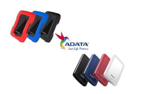 ADATA unveils HV300 and HD330 external portable HDDs